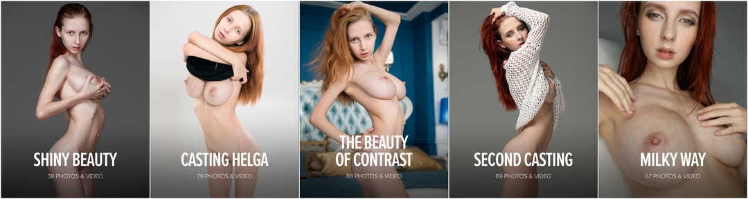 [Watch4Beauty] Helga Grey - Photo & Video Pack 2017-2018