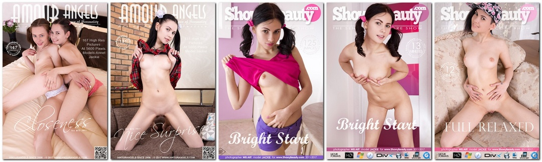 Alla B, Alla S, Jackie, Ava Gardon - Photo & Video Pack 2016-2019